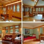 Salas de estar y dormitorios