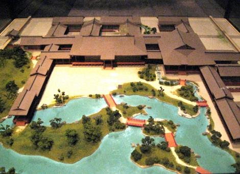 Villa Shinden. Maqueta.