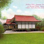 Postal del Pabellón del Japón