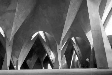 Iglesia de la Medalla de la Virgen Milagrosa, Ciudad de México, México. Félix Candela.