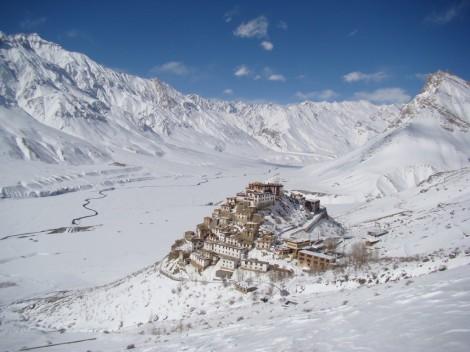 Monasterio valle Spiti_invierno
