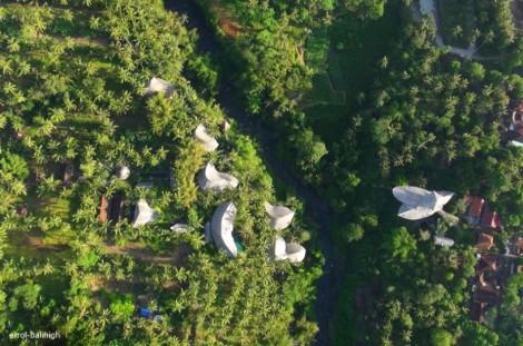 Vista de satélite del Green Village.