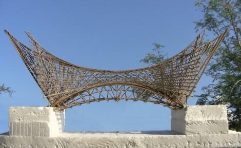 Maqueta del puente del milenio