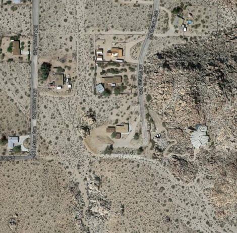 Desert JT house-aerea situación 3