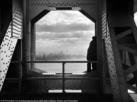 George Washington Bridge-1936