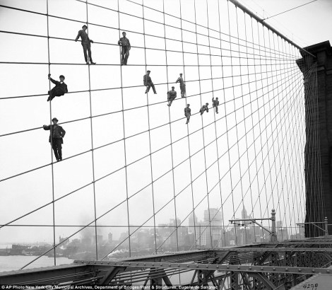 Puente de Brooklyn-1914