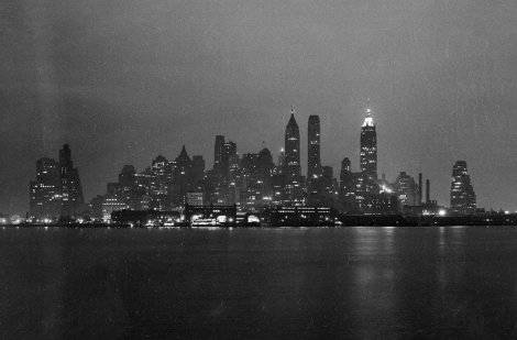 skyline de Manhattan-1938