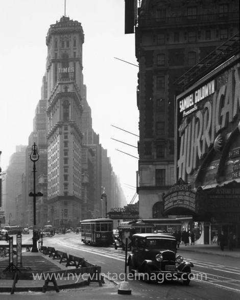 Times Square, 1930