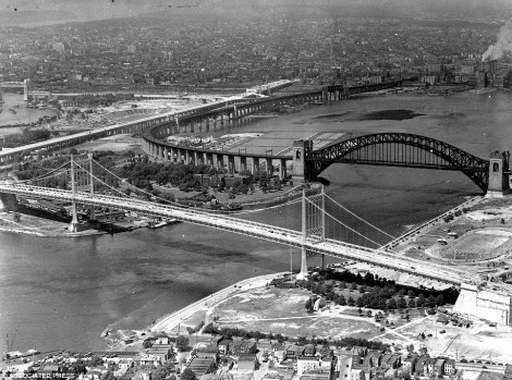 Triborough Bridge -1936