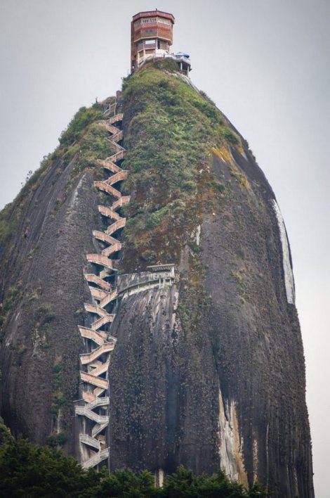 El Peñol - escalera 2