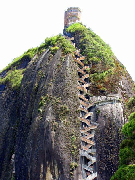 El Peñol - escalera 3