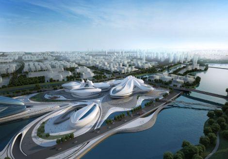 Centro internacional de arte y cultura de Chandsha Meixihu - 00