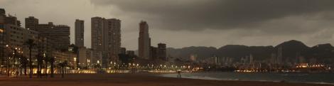 Paseo Marítimo Benidorm - nocturno 01