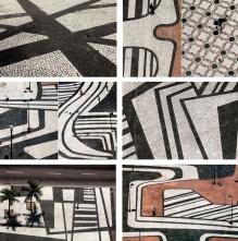 Playa Copacabana - mosaico 2