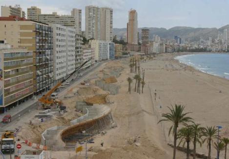 Paseo Marítimo Benidorm - construcción 01