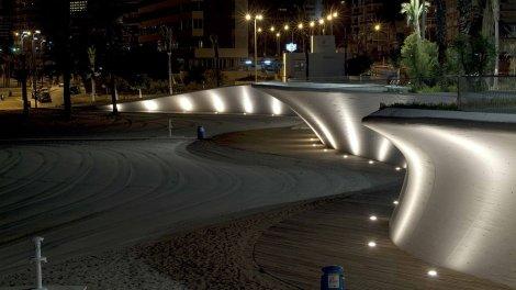 Paseo Marítimo Benidorm - nocturno 03