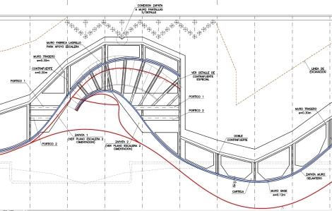 Paseo Marítimo Benidorm - plano constructivo 2