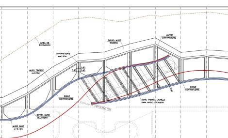 Paseo Marítimo Benidorm - plano constructivo 3