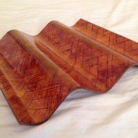 La versión onduline del bambú.
