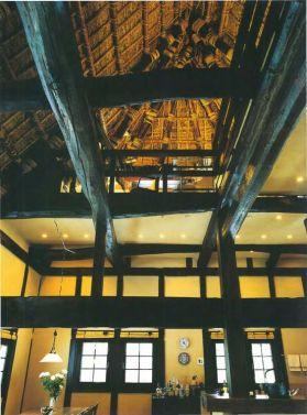 Shirakawago-casa minka interior