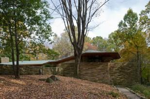 D607_628 18/10/2011 : Chalk Hill, PA, Kentuck Rd: Kentuck Knob (Frank Lloyd Wright, 1953-56)