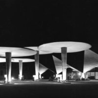 1962 · La estación de servicio El Rebollet